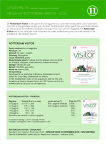 MEDIA KIT 2020 Rotterdam Visitor